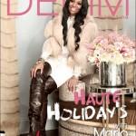 Marlo Hampton Wears Upscale Designers For Her Denim Magazine Fashion Shoot