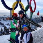 Swizz Beatz, Alicia Keys & Kids Spotted Skiing In Whistler, Canada