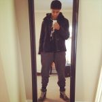 Diggy Simmons Styling In $895 Spring/Summer 2012 Maison Martin Margiela Sneakers