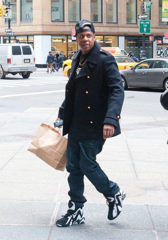 1331b0d497e9 Sneaker Me Dope  Jay-Z Wearing Reebok Kamikaze II Mid OG In ...