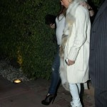 Jennifer Lopez Spotted Out On The Town In Miami Wearing Giuseppe Zanotti Metal Plate Sneakers