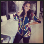 Celebs Style: Lala Anthony & Angela Simmons In A $111 Virgos Lounge Aggy Jacket