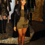 NYFW: Angela Simmons Attend The Alice + Olivia By Stacey Bendet Fall 2013 Fashion Show