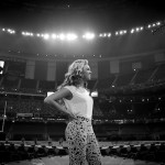 Exclusive Photos Of Beyonce Rehearsing At The Mercedes-Benz Superdome