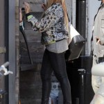 The Carters & Solange Knowles Spotted Dining At Gjelina Restaurant In Venice, CA