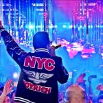 "Celebs Fashion: Rappers Fabolous & B.o.B. Sporting A $275 JoyRich NYC Letterman ""Wild Life"" Varsity Jacket"
