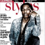 A$AP Rocky Does A Simple Pose On The Cover Of L'Express Styles