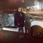 Angela Simmons Spotted In Miami Glammed-Up In A Virgos Lounge Crop Top & Skirt Paired With Fendi Shoes