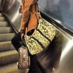 A$AP Rocky Carries Goyard And Louis Vuitton Luggage; Plus Wears $200 Jeremy Scott Letters Shoes