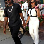 Ashanti Looks Gorgeous In Beverly Hills At The Ivy