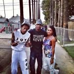 Wiz Khalifa Styles In A Joyrich Sleeveless Hoodie With The Matching Sweatpants