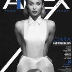 """Ciara Wears A White Suit On The Cover Of Annex Magazine's """"Diane"""" Issue"""
