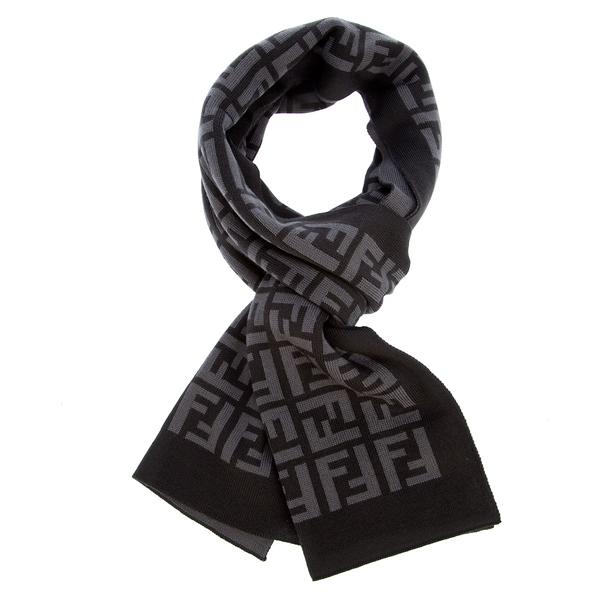 ff067db6 australia fendi black scarf db1cc acd03