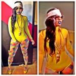 Keyshia Ka'ior Gets Colorful On The Set Of Gucci Mane's New Visual; Plus She Wears Christian Louboutin On The Red Carpet