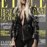 She's Back To Normal Again! Nicki Minaj Wears A Long Blonde Weave On The Cover Of Elle Magazine