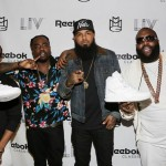 Reebok Classic Whites Event Hosted By Rick Ross; Plus Ace Hood, Meek Mill, Wale, Stalley & Omarion In Attendance