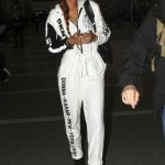 Celebs Style: Rihanna & A$AP Rocky Spotted Wearing A $315 DKNY Exclusively for Opening Ceremony '91 Sweat Jumpsuit