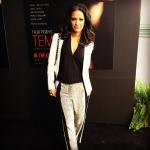 Who Wore It better? Rocsi Diaz & Tamar Braxton In $750 3.1 Phillip Lim Grey Sequin Collage Silk Harem Pants