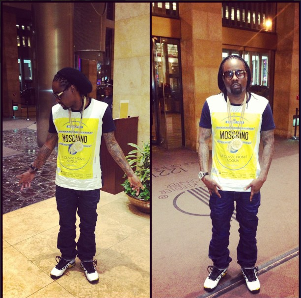 0e25733bc20 MMG's rapper Wale is back in NYC doing some promo. Earlier in the week it  was announced that his third album, The Gifted will hit music retailers on  June 25 ...