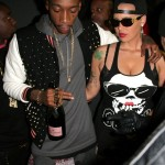 Amber Rose & Wiz Khalifa Spotted Out On The Town