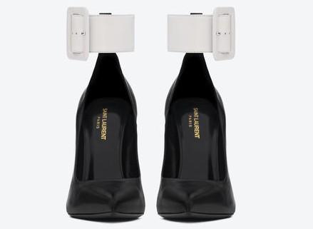 315540_CYU10_1090_B-ysl-saint-laurent-paris-women-paris-ankle-strap-escarpin-pointy-toe-shoe-in-black-and-white-leather-450x564