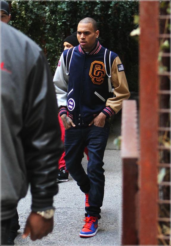 Chris brown fashion style 2013