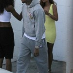Chris Brown & Rihanna Spotted Shopping At Wild Style By Joyrich In Los Angeles