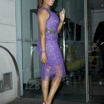Lala Anthony Co-Host 'The View' In Vera Wang & Manolo Blahnik