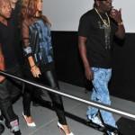 Rihanna Wears Givenchy & Christian Louboutin To Magic City Strip Club