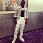 Victor Cruz Enjoys A Night Out On The Town In Pyrex Vision & Givenchy