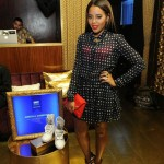 Angela Simmons Shows Her Pretty Toes In $1,450 Giuseppe Zanotti Golden Pyramid Studs Leather Sandals