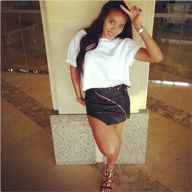 Angela Simmons Enjoys The Cool Breeze In 1 472 Giuseppe
