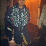Passion For Fashion: Chris Brown Rocks A $2,185 Givenchy Plane-Print Reversible Bomber Jacket