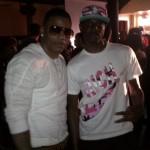 Don Bleek Wears A Joyrich 'Rich' Camo Tee-Shirt & The Matching Joyrich Camo NYC Cap In Pink/Turquoise