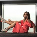 Eve Dresses In Bright Upscale Designer Pieces For Her New York Post 'Lip Lock' Photoshoot