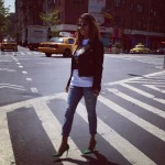 Lala Anthony Spotted Making Her Rounds In NYC; She Styling In Pierre Balmain & Manolo Blahnik