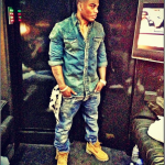 Fellas, Are We Feeling This Trend? Nelly, Kanye West & Nas Rocks Denim On Denim