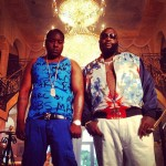 Summer Style: Jadakiss Wears A $98 Marc by Marc Jacobs Eletric Blue Printed Jersey Tank