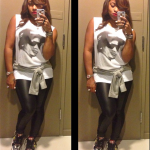 Toya Wright Wears Christian Louboutin Rantus Orlato Multicolor Sneakers & Carries A Chanel Bag In NYC
