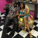 Are You Feeling It? Toya Wright Wears Neon Yellow Steve Madden 'Real Love' Sandals
