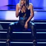 Nicki Minaj Pairs $540 PRSVR Lux Track Pants With $1,095 Giuseppe Zanotti Zebra High Top Wedge Sneakers