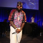 Rick Ross & Michael Strahan Rocks Dope Kicks At Russell Simmons' 14th Annual Art For Life Event In The Hamptons