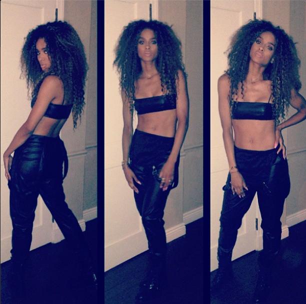 Are You Feeling It Ciara Rocks A Tomboy Aaliyah Inspired Ensemble