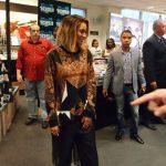 Ciara Wears A $1,780 Givenchy Brown Paisley Geometric Print Zippered Sweatshirt
