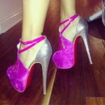 Draya Instagram'd $1,295 Christian Louboutin Carlota Pumps; Plus A Look Inside Of Her Shoe Closet