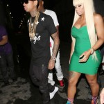 Blac Chyna Wears $1,495 Jimmy Choo Dream Rope-Tie Elaphe Sandals To Chris Brown's BET Awards After Party
