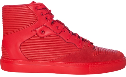 balenciaga-Pleated-Red-Sneakers1