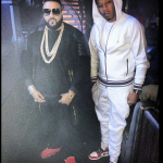 Vado Wears A $715 Gucci White Felted Toweling Hooded Sweater With The Matching $555 Felted Toweling Pants