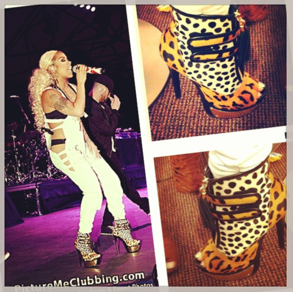 cdc0053946d Keyshia Cole Performs In Shoes From Her Steve Madden Collection ...
