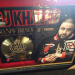 """DJ Khaled Receives Gold Plaque For """"No New Friends"""" And Juelz Santana & Vado In The Studio Together"""